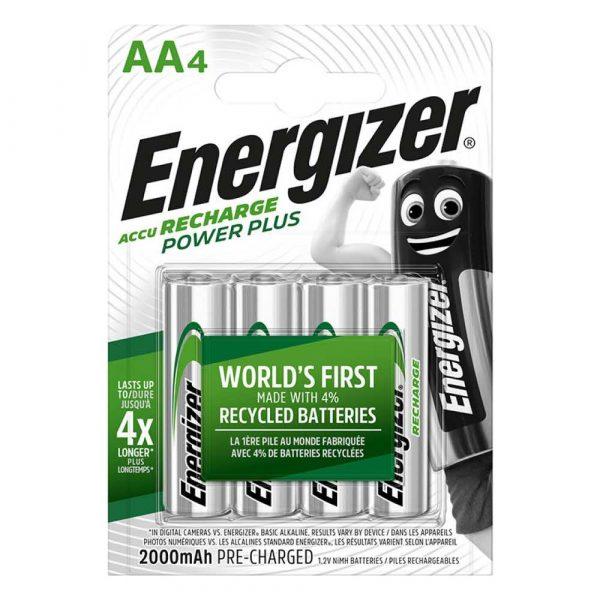 akumulatory 4 alibiuro.pl Akumulator ENERGIZER Power Plus AA HR6 1 2V 2000mAh 4szt. 81