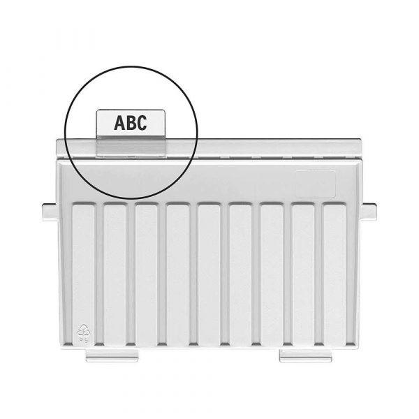 archiwizacja dokumentów 4 alibiuro.pl Indeksy do przekładek HAN Kartei PVC transparentne 13