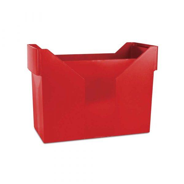 archiwizacja dokumentów 4 alibiuro.pl Mini archiwum DONAU plastikowe czerwone 31