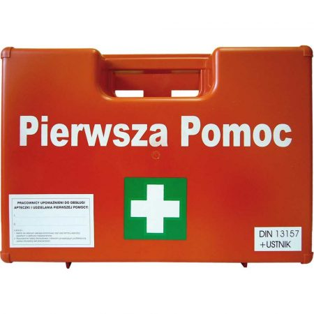 artykuły BHP 2 alibiuro.pl APTECZKA PIERWSZEJ POMOCY 8 VAT AZP100 38