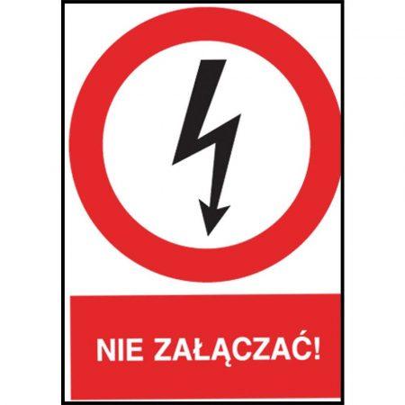 artykuły BHP 2 alibiuro.pl ZNAK BEZPIECZEŃSTWA Z 3EZA P 74x105 66