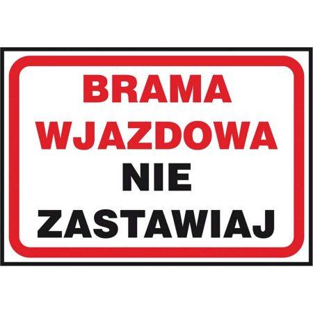 artykuły BHP 2 alibiuro.pl ZNAK BEZPIECZEŃSTWA Z 41P FS 250x350 56