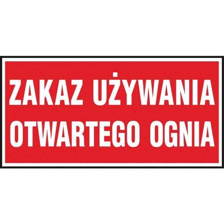 artykuły BHP 2 alibiuro.pl ZNAK BEZPIECZEŃSTWA Z 47P FS 200x400 85