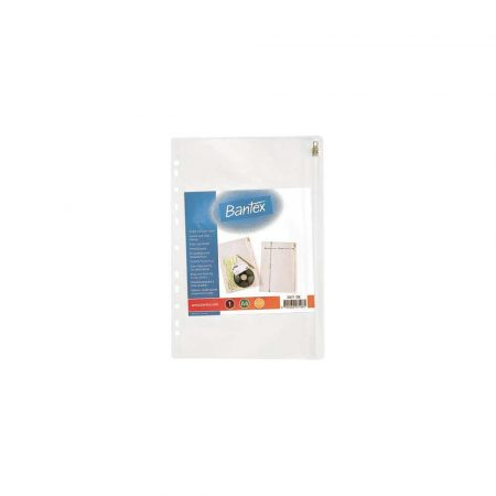 artykuły biurowe 1 alibiuro.pl 2071 67017 Koszulka z suwakiem A4 PVC 140 mic.Bantex 68
