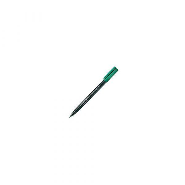 artykuły biurowe 1 alibiuro.pl 313 Marker Lumocolor S 0 4 mm do folii płyt CD Staedtler zielony 49