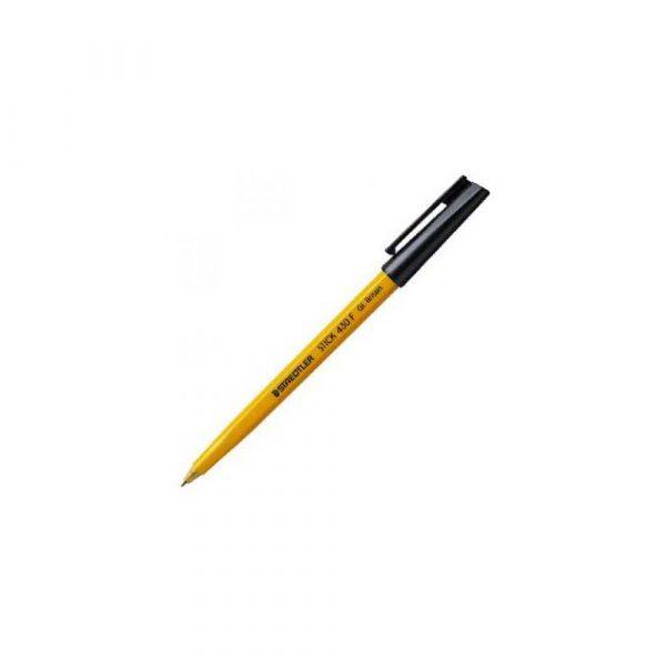 artykuły biurowe 1 alibiuro.pl 430 F Długopis Stick Staedtler zielony 24