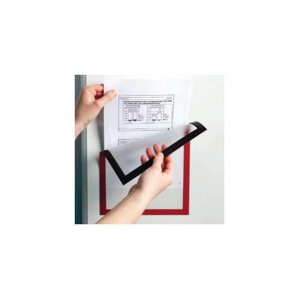 artykuły biurowe 1 alibiuro.pl 4868 Magnetyczna ramka informacyjna A3 DURAFRAME MAGNETIC Durable srebrny 486823 38