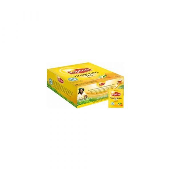 artykuły biurowe 1 alibiuro.pl Herbata Yellow Label KOPERTY 100szt Lipton 14