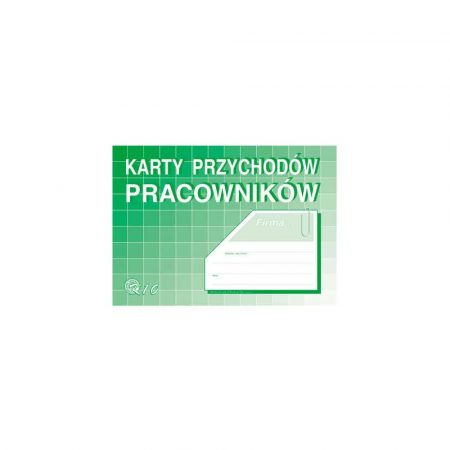 artykuły biurowe 1 alibiuro.pl Karty przychodu pracownika MiP A5 K10 51