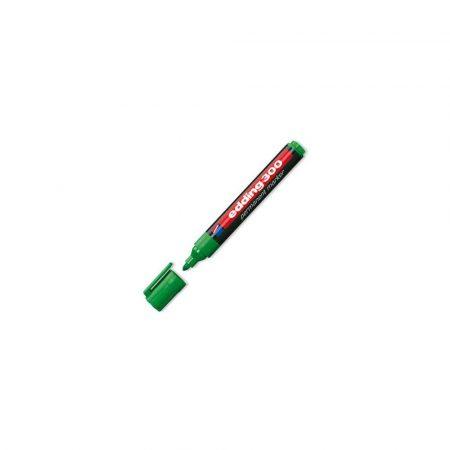 artykuły biurowe 1 alibiuro.pl Marker permanentny okrągły 1 5 3mm 300 Edding zielony 90