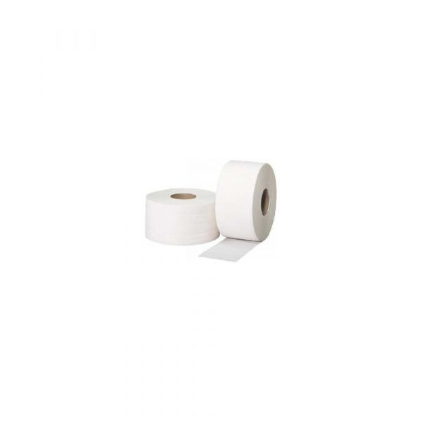 artykuły biurowe 1 alibiuro.pl Papier toaletowy Jumborola 2 warstwy 100 m biały celuloza 12 szt 72
