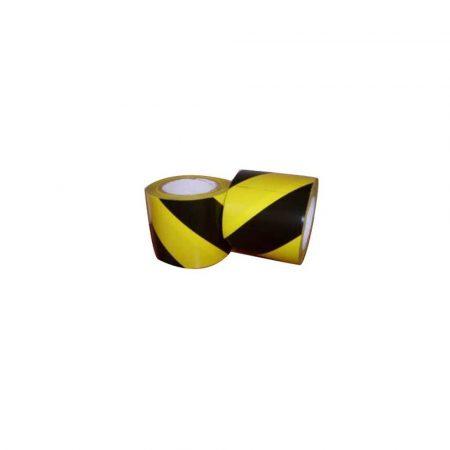artykuły biurowe 1 alibiuro.pl Taśma samoprzylepna żółto czarna Inch ostrzegawcza Inch 48mm x 33m TP31S 033 Dalpo 18