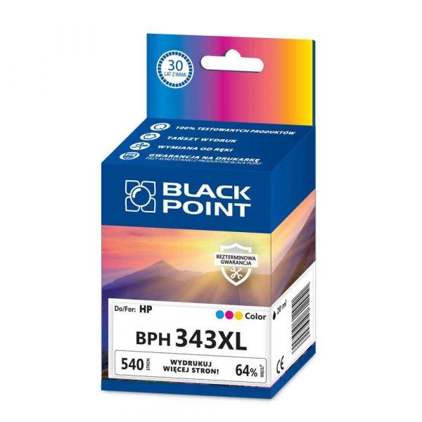 artykuły biurowe 3 alibiuro.pl BPH343XL Ink Tusz BP HP C8766EE BlackPoint BPH343XL SGH0343BGKW 7