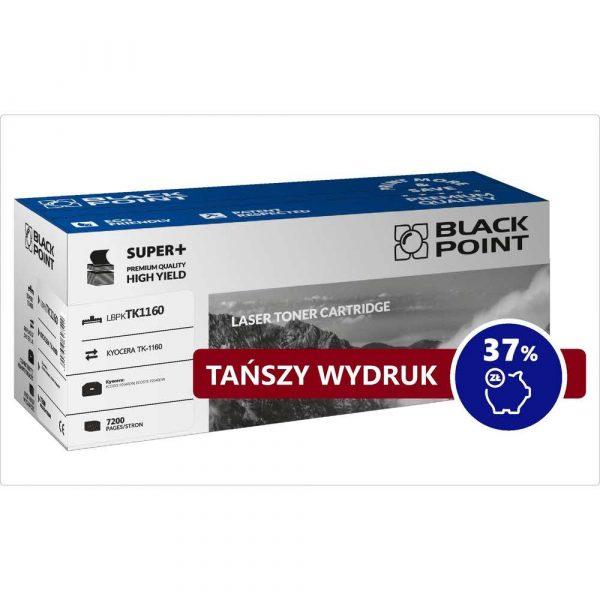 artykuły biurowe 3 alibiuro.pl LBPKTK1160 Toner BP S TK 1160 BlackPoint LBPKTK1160 BLKYOTK1160BCBW 45