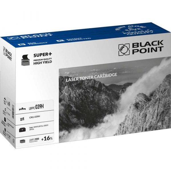 artykuły biurowe 3 alibiuro.pl LBPPC039H Toner BP S Canon CRG 039H BlackPoint LBPPC039H BLC039BHCBW 44
