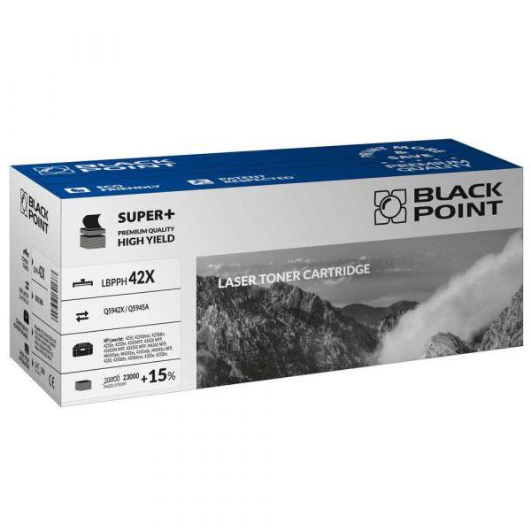 artykuły biurowe 3 alibiuro.pl LBPPH42X Toner BP S HP Q5942X Q5945A BlackPoint LBPPH42X BLH4250BHBW 30
