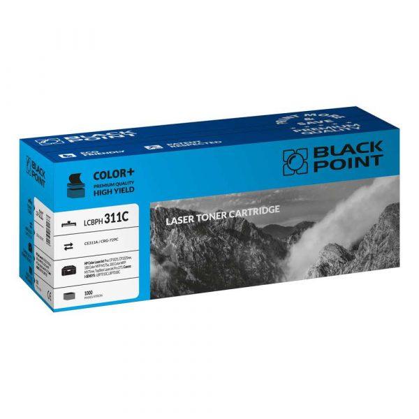 artykuły biurowe 3 alibiuro.pl LCBPH311C Toner BP HP CE311A BlackPoint LCBPH311C BLH1025BCBW 87