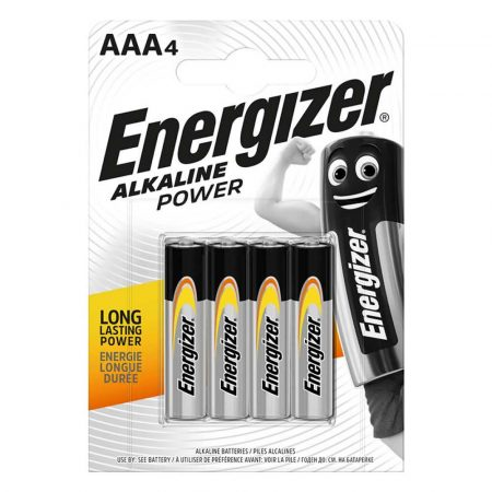 artykuły biurowe 4 alibiuro.pl Bateria ENERGIZER Alkaline Power AAA LR03 1 5V 4szt. 54