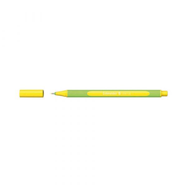 artykuły biurowe 4 alibiuro.pl Cienkopis SCHNEIDER Line Up 0 4mm żółty 59