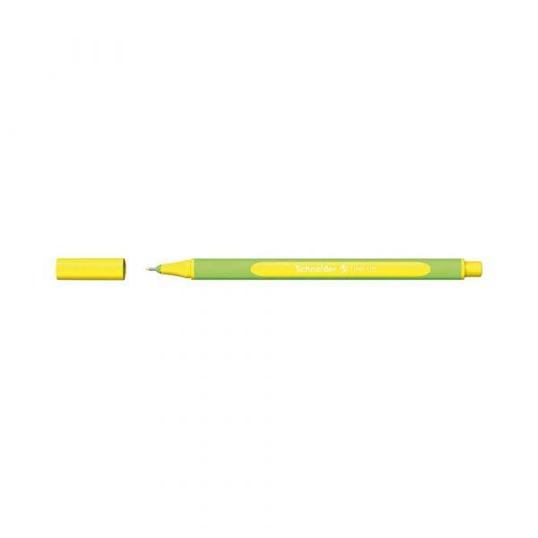 artykuły biurowe 4 alibiuro.pl Cienkopis SCHNEIDER Line Up 0 4mm żółty neonowy 64