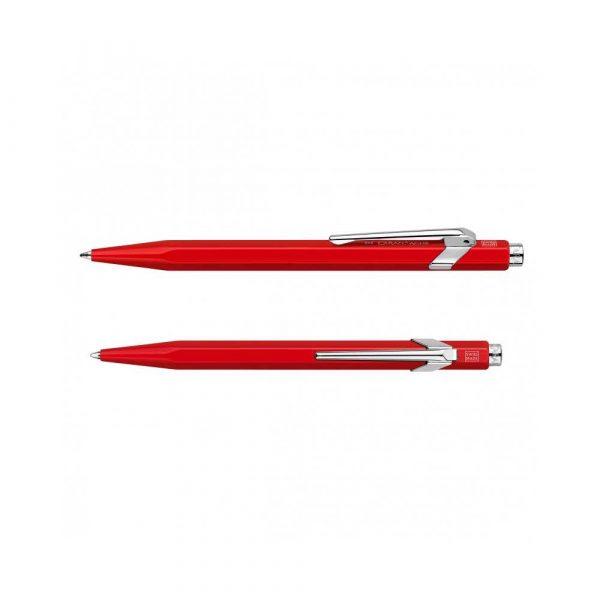artykuły biurowe 4 alibiuro.pl Długopis CARAN D Inch ACHE 849 Classic Line M czerwony 6