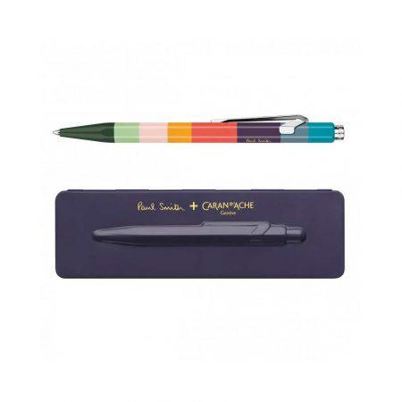 artykuły biurowe 4 alibiuro.pl Długopis CARAN D Inch ACHE 849 Paul Smith 3 Damson M w pudełku fioletowy 18