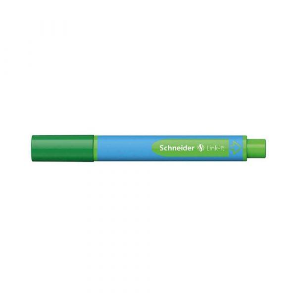artykuły biurowe 4 alibiuro.pl Długopis SCHNEIDER Link It Slider XB zielony 71