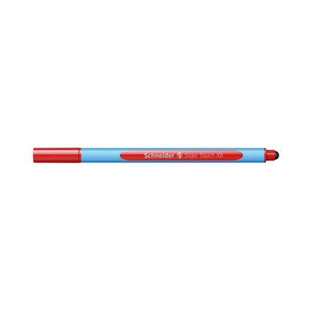 artykuły biurowe 4 alibiuro.pl Długopis SCHNEIDER Slider Touch XB czerwony 48
