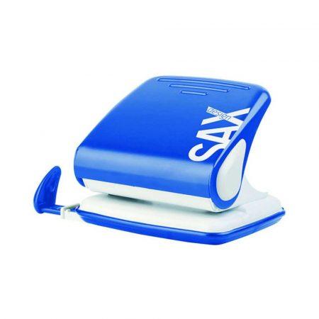 artykuły biurowe 4 alibiuro.pl Dziurkacz SAXDesign 418 paperbox dziurkuje do 25 kartek niebieski 5