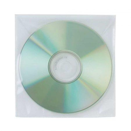 artykuły biurowe 4 alibiuro.pl Koperty na płyty CD DVD Q CONNECT 50szt. transparentny 31