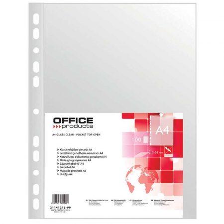 artykuły biurowe 4 alibiuro.pl Koszulki na dokumenty OFFICE PRODUCTS PP A4 groszkowe 40mikr. 100szt. 70