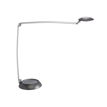 artykuły biurowe 4 alibiuro.pl Lampka LED na biurko MAULspace 8W ze ściemniaczem srebrna 35