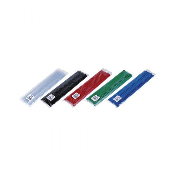 artykuły biurowe 4 alibiuro.pl Listwa zaciskająca DONAU PVC A4 4mm do 40 kartek zielona 6