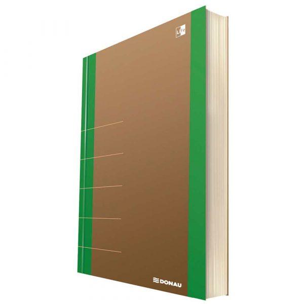 artykuły biurowe 4 alibiuro.pl Notatnik DONAU Life organizer 165x230mm 80 kart. zielony 24