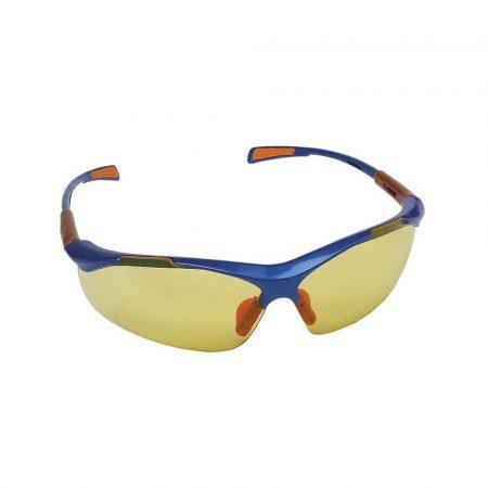 artykuły biurowe 4 alibiuro.pl Okulary ochronne Nellore szyba 1F UV żółte 35