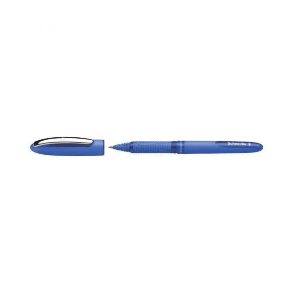 artykuły biurowe 4 alibiuro.pl Pióro kulkowe SCHNEIDER One Hybrid C 0 5 mm niebieski 71