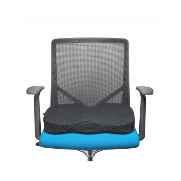 artykuły biurowe 4 alibiuro.pl Poduszka na krzesło KENSINGTON Premium żelowa chłodząca czarna 59