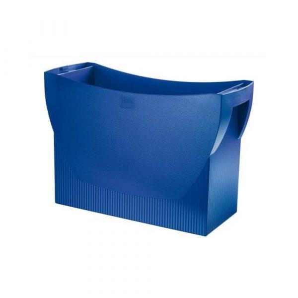 artykuły biurowe 4 alibiuro.pl Pojemnik na teczki zawieszkowe HAN Swing polistyren A4 niebieski 14