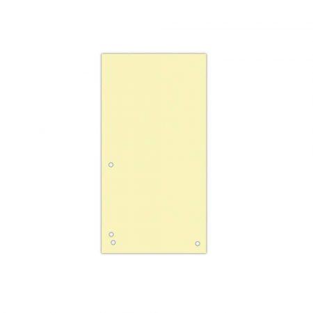 artykuły biurowe 4 alibiuro.pl Przekładki DONAU karton 1 3 A4 235x105mm 100szt. żółte 23