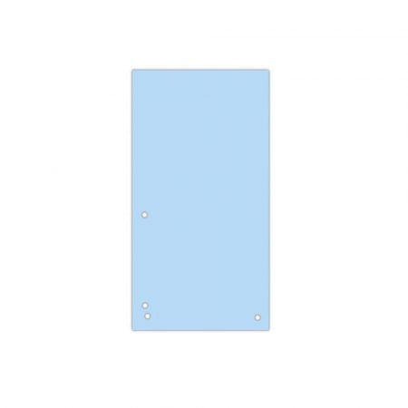 artykuły biurowe 4 alibiuro.pl Przekładki DONAU karton 1 3 A4 235x105mm 100szt. niebieskie 0