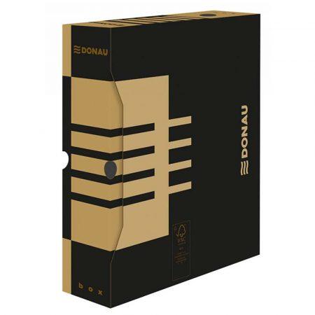 artykuły biurowe 4 alibiuro.pl Pudło archiwizacyjne DONAU karton A4 80mm brązowe 92