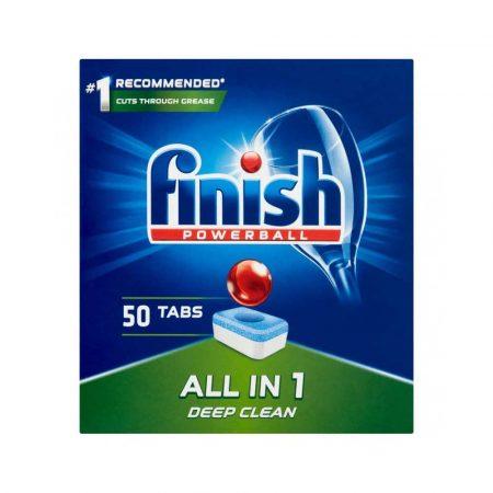 artykuły biurowe 4 alibiuro.pl Tabletki do zmywarki FINISH All in one Powerball 50szt. regular 69