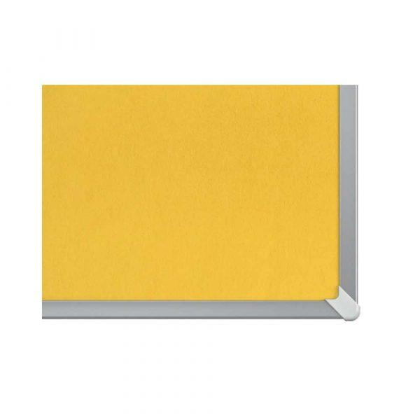 artykuły biurowe 4 alibiuro.pl Tablica filcowa NOBO 72x41cm panoramiczna 32 Inch żółta 65