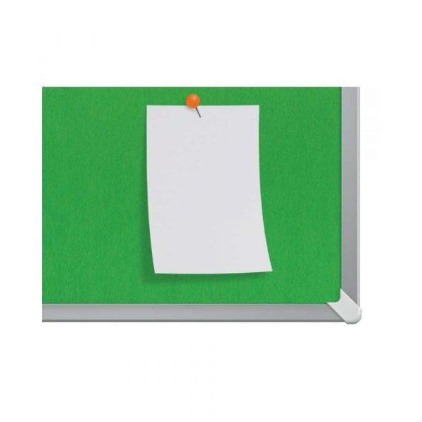 artykuły biurowe 4 alibiuro.pl Tablica filcowa NOBO 90x51cm panoramiczna 40 Inch zielona 85
