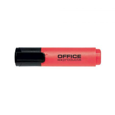 artykuły biurowe 4 alibiuro.pl Zakreślacz OFFICE PRODUCTS 2 5mm linia czerwony 86