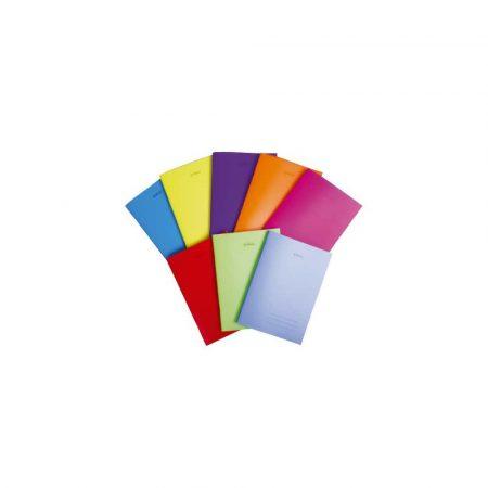 artykuły papiernicze 1 alibiuro.pl Zeszyt A5 60 kartek w kratkę w oprawie PP Transparent Colors 9562034 Herlitz 67