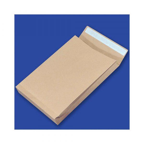 artykuły papiernicze 4 alibiuro.pl Koperty RBD z taśmą silikonową OFFICE PRODUCTS HK E4 280x400mm 150gsm 250szt. brązowe 55