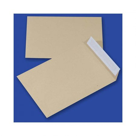 artykuły papiernicze 4 alibiuro.pl Koperty z taśmą silikonową OFFICE PRODUCTS HK C4 229x324mm 90gsm 10szt. brązowe 28