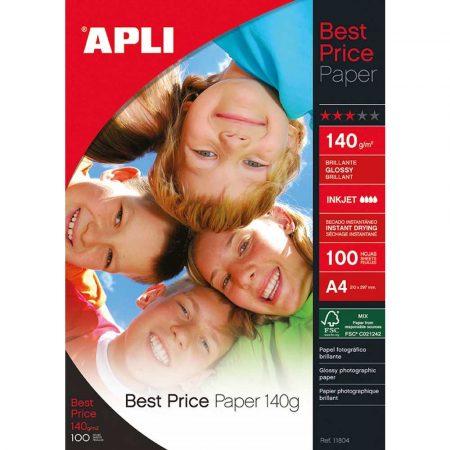 artykuły papiernicze 4 alibiuro.pl Papier fotograficzny APLI Everyday Photo Paper A4 280gsm błyszczący 25ark. 22