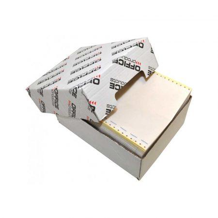artykuły papiernicze 4 alibiuro.pl Papier komputerowy samokopiujący OFFICE PRODUCTS 240X12 Inch X4 z nadrukiem O K 400 składek 70